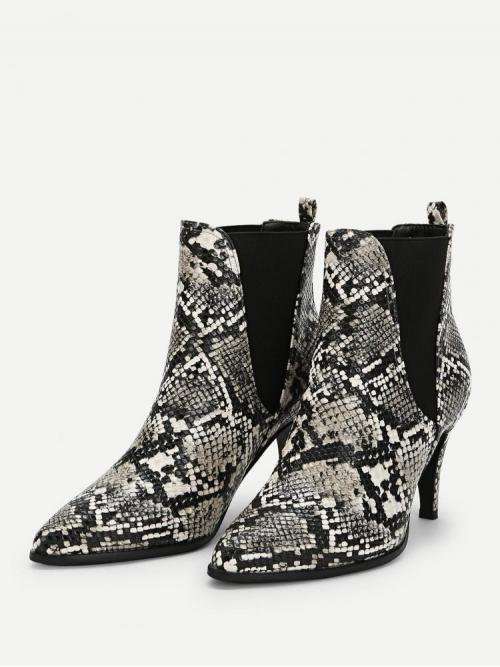 Velvet Multicolor Chelsea Boots Pleated Pointed Toe Boots Shopping