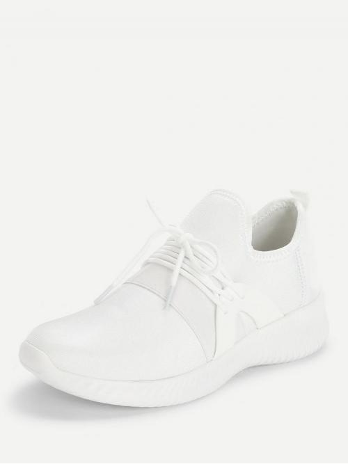 Corduroy White Skate Shoes Hollow Low Top Sneakers Affordable