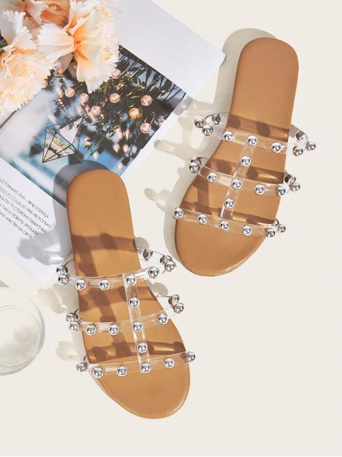 clear studded slides off 70% - axnosis