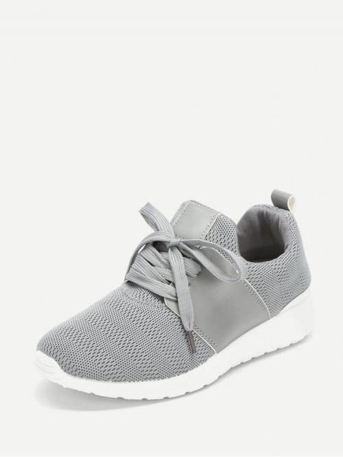 Corduroy Grey Skate Shoes Zipper Knit Sole Trainers Trending now