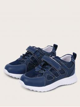 Toddler Boys Lace-up Front Breathable Sneakers Beautiful