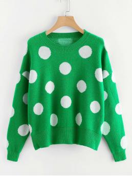Womens Long Sleeve Pullovers Button Shearling Pattern Sweater