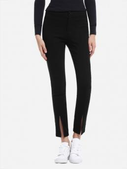 ZAN.STYLE Slim Front Slit Leggings