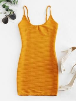 No Summer Elastic Solid Ruched Sleeveless Spaghetti Mini Bodycon Casual  and Day Sexy Ruched Bodycon Cami Dress