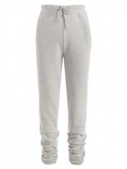 Gray Camo Skinny Fashion Pockets Fleece Lined Stacked Pants Trending now