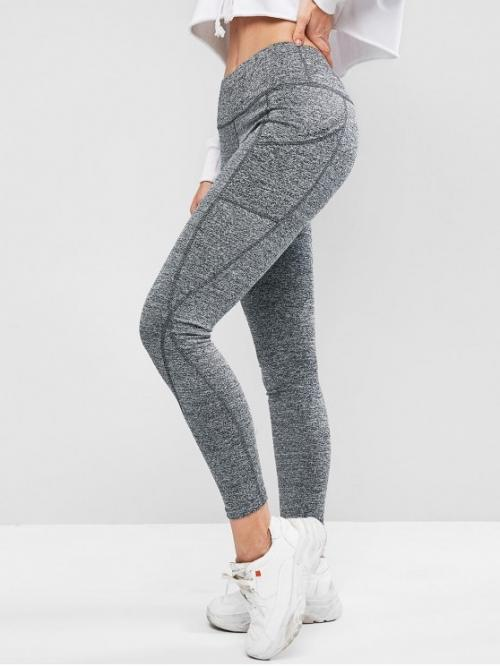 Fall and Spring Full Others Elastic High Sports Casual High Waisted Skinny Plain Leggings