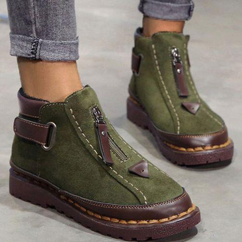 Discount Military Green Winter Women's Ankle