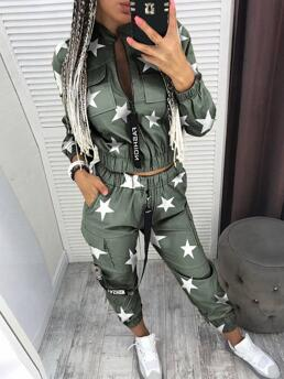 Fashion Army Green Cargo Pants,pants Sets Cargo Fit